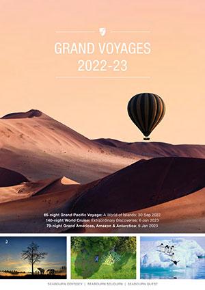 シーボーンパンフレット (個人旅行/英語)【2022年~2023年】